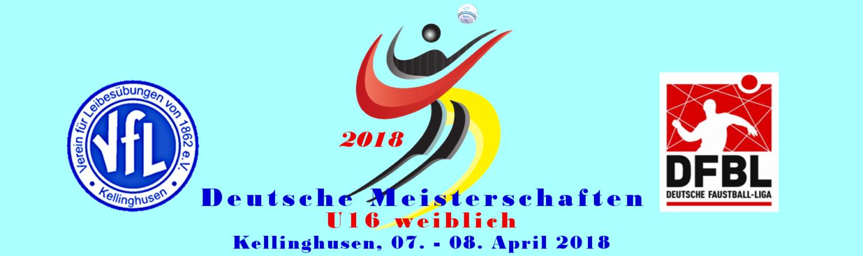 Deutsche Meisterschaft U16w Halle 2017/2018